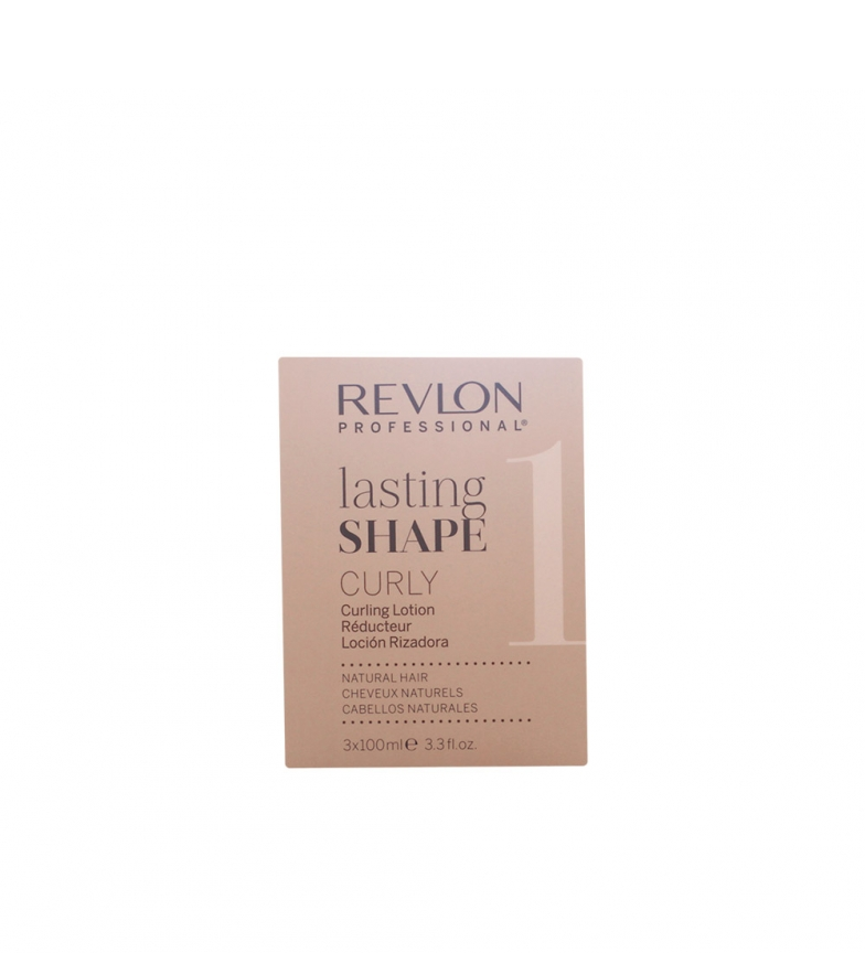 Comprar Revlon Tratamiento keratina Lasting Shape 3x100 ml -Cabello rizado-