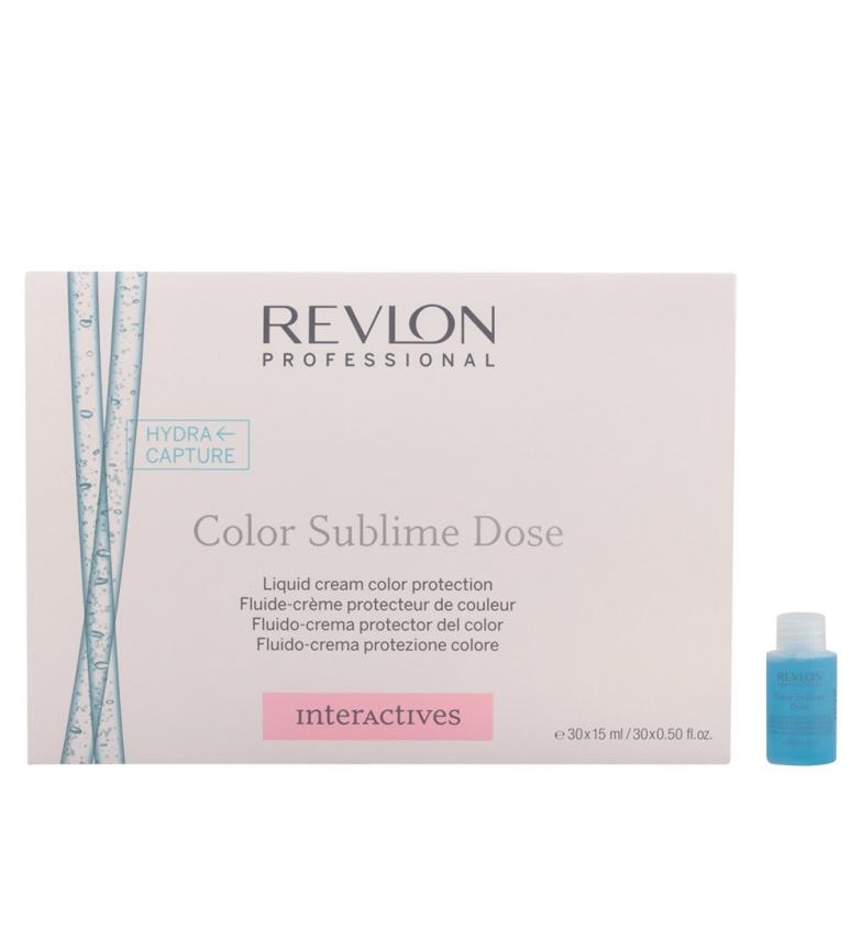 Comprar Revlon Tratamientos Hydra Capture liquid cream color protection 30x15 ml -Cabellos teñidos-