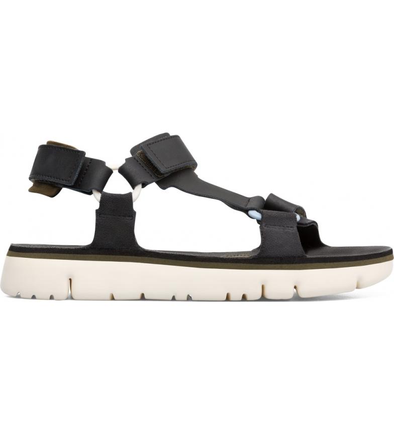 Comprar CAMPER Caterpillar leather sandals black, grey