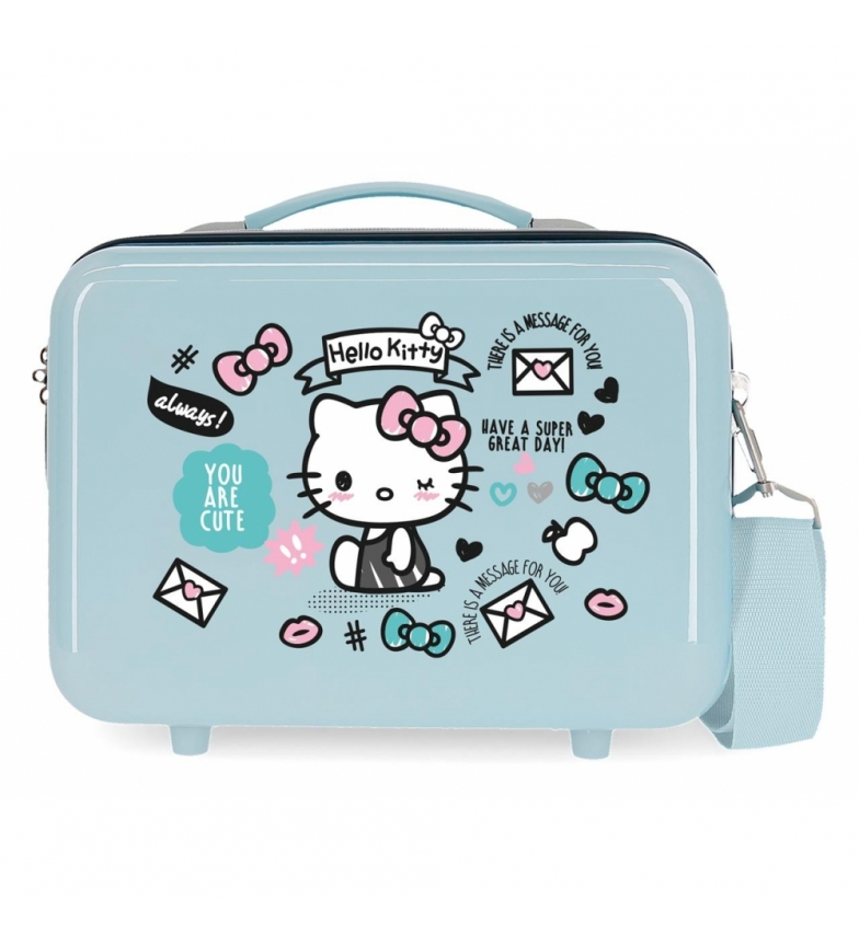 Comprar Hello Kitty Neceser ABS HELLO KITTY You are Cute adaptable a trolley Fucsia -29x21x15cm-