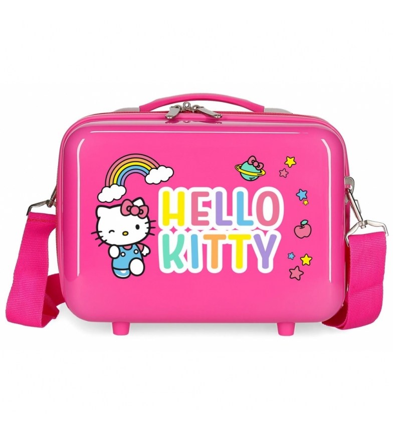 Comprar Hello Kitty ABS HELLO KITTY Toilette You are Cute adaptable au chariot Blanc -29x21x15cm