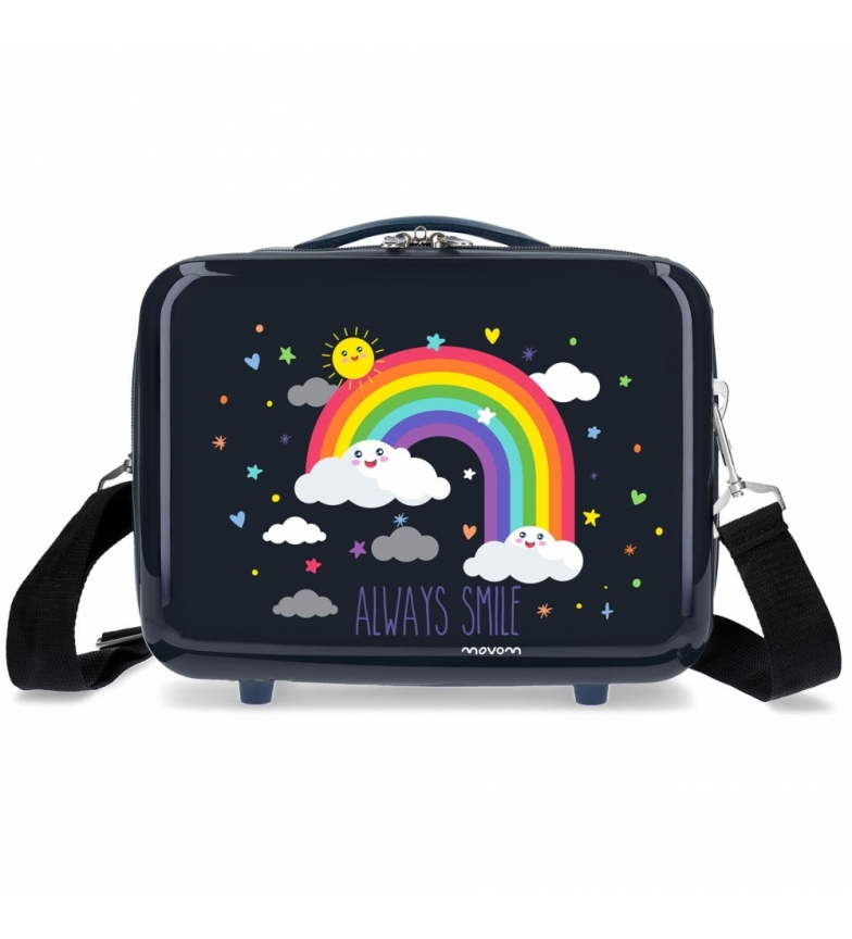 Comprar Movom ABS Movom Toilet Bag Rainbow Always Smile adaptable to trolley Blue -29x21x15cm