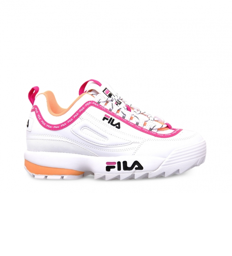 Comprar Fila Logo Disrupter 1010748 white