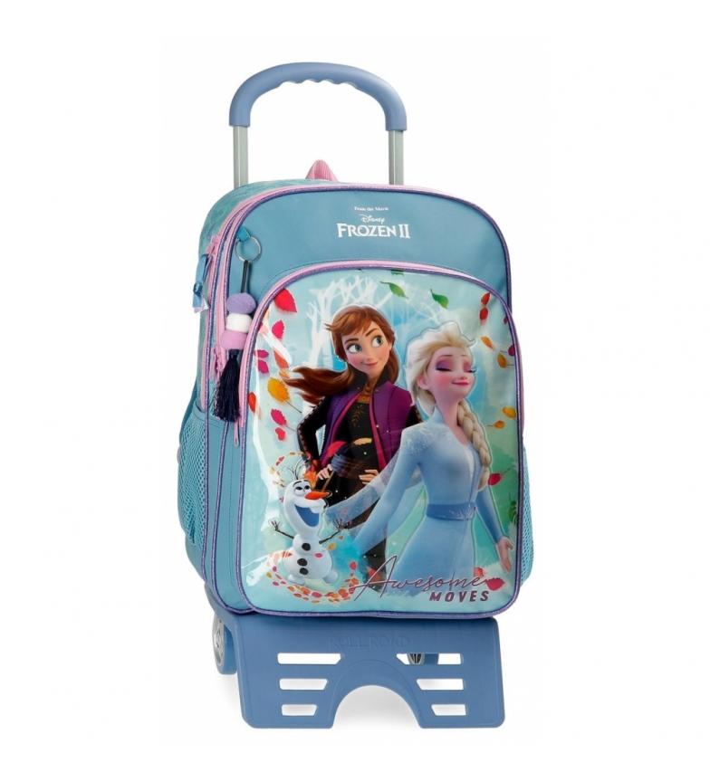 Comprar Joumma Bags Sac d'école Frozen Awesome Moves avec chariot -31x42x13cm