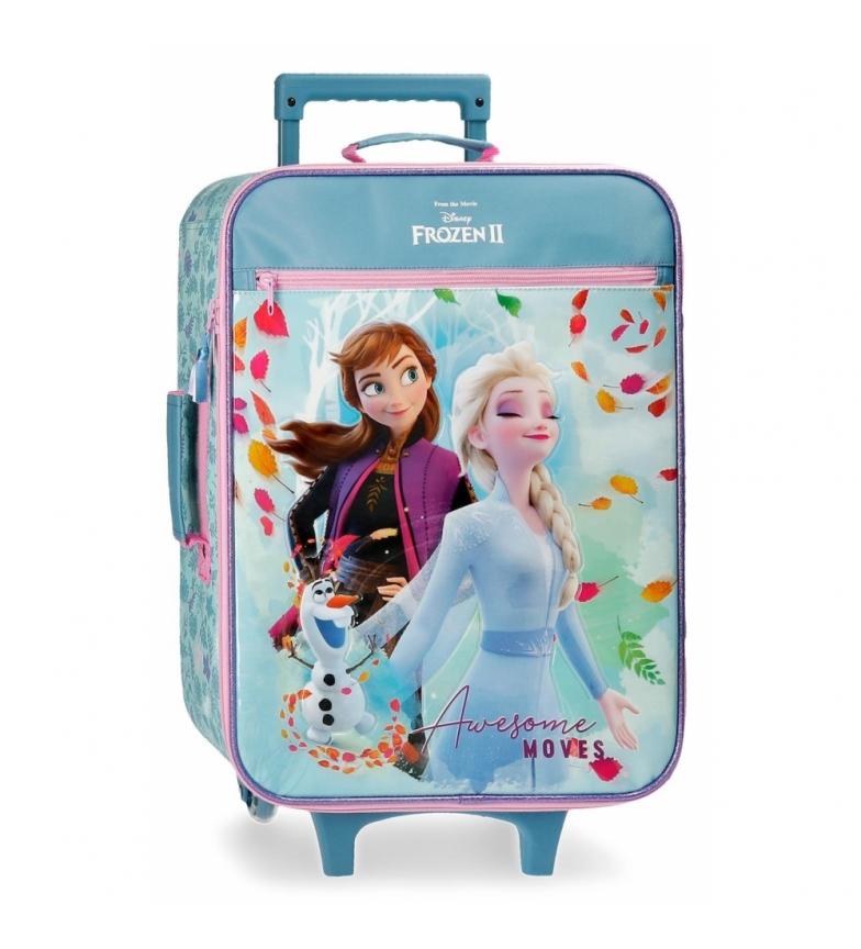 Comprar Joumma Bags Mala de Cabine Frozen Awesome Moves azul -35x50x18cm
