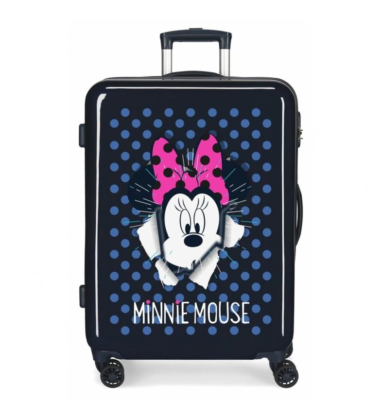 Comprar Minnie Valise de taille moyenne Minnie rigide 70L Sunny Day bleu marine -48x68x26cm