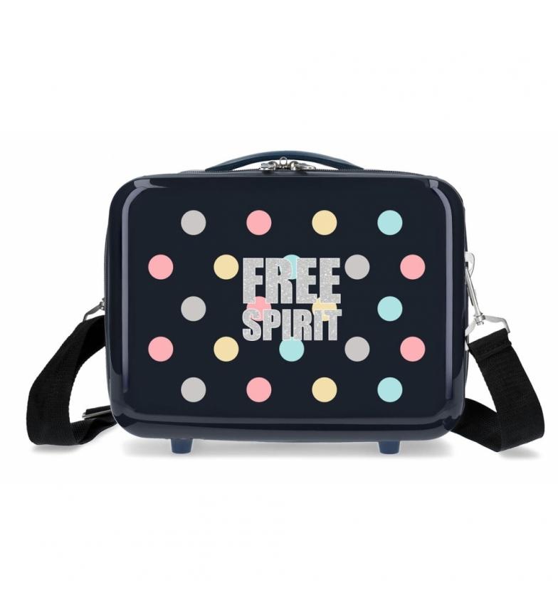 Comprar Movom ABS Movom Free Dots Toilet Bag Blu Navy -29x21x15cm