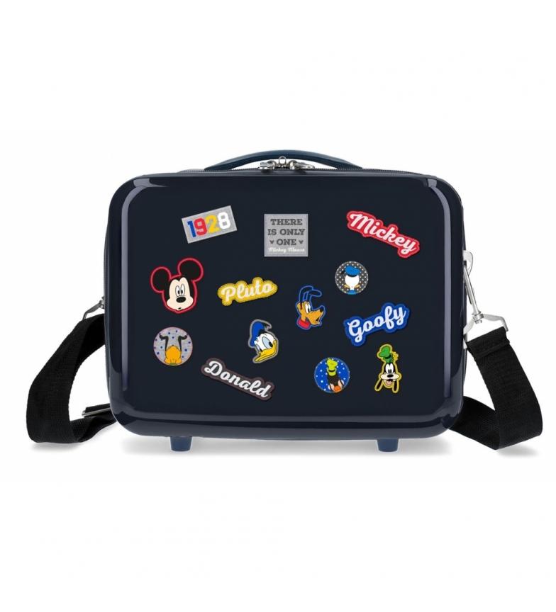 Comprar Mickey Neceser ABS Mickey Adaptable personajes Azul Marino -29x21x15cm-