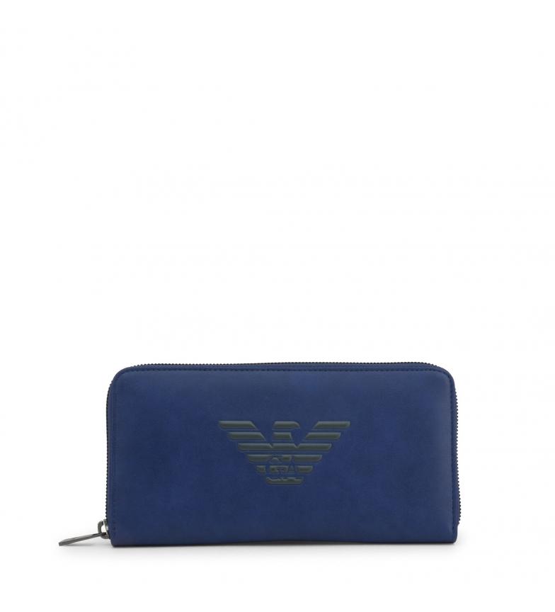 Comprar Emporio Armani Portefeuille Y4R169_YG90J bleu