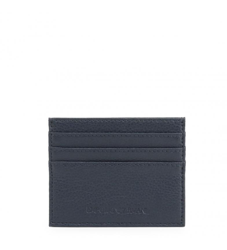 Comprar Emporio Armani Leather wallet Y4R173_YEW1E blue