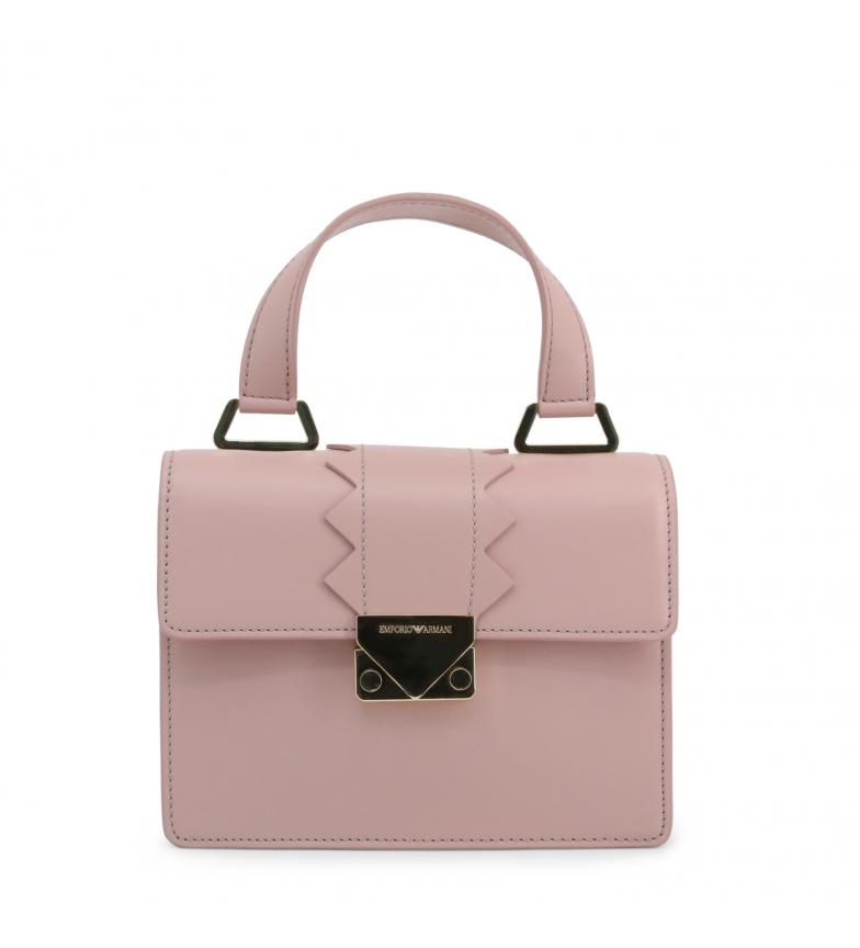 Comprar Emporio Armani Leather handbag Y3B075-YDC1A pink