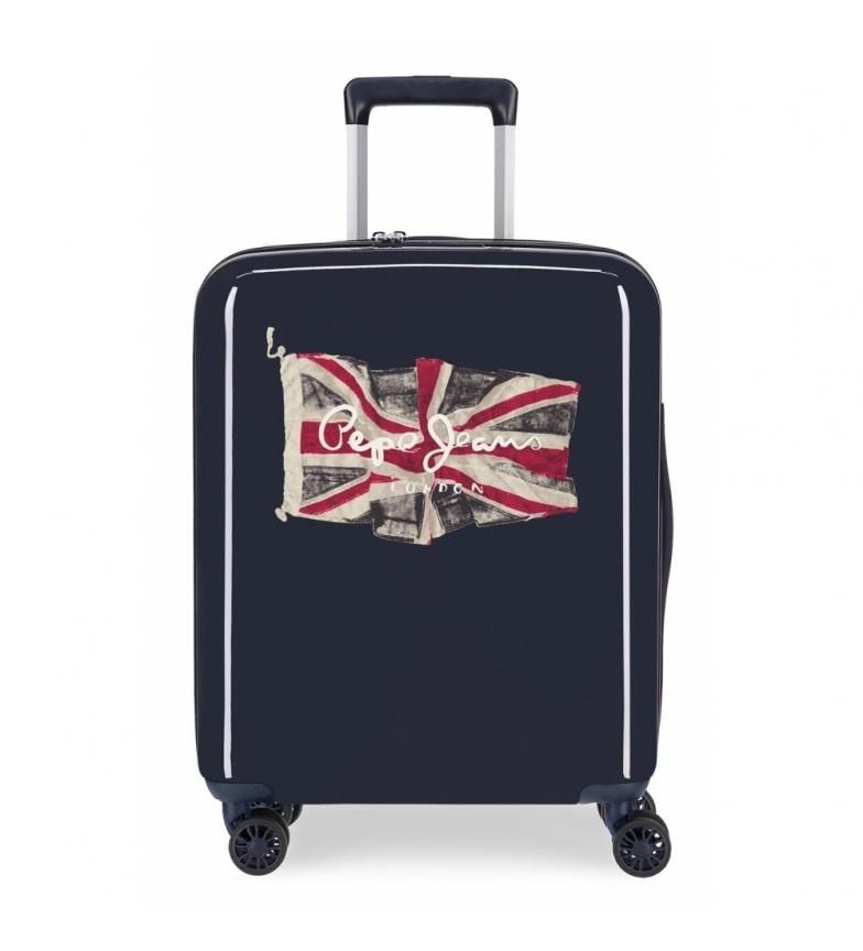 Comprar Pepe Jeans Valise rigide taille cabine 38,4L Pepe Jeans FLAG bleu marine -55x40x20cm