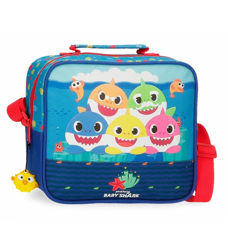 Comprar Baby Shark Adaptable Toilet Bag with Happy Family shoulder strap -23x20x9cm