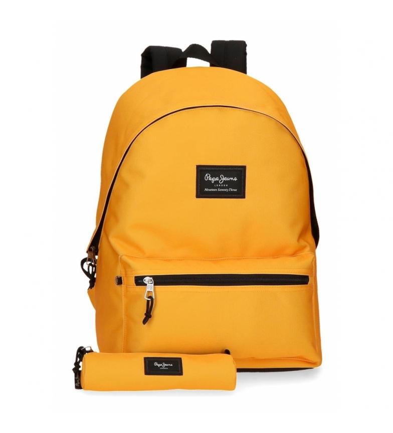Comprar Pepe Jeans Pepe Jeans Aris Backpack Mustard Case -31x44x17.5cm