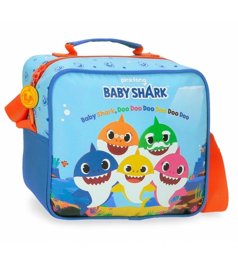 Joumma Bags Saco tubarão bebé adaptável ao carrinho com tiracolo -23x20x9cm