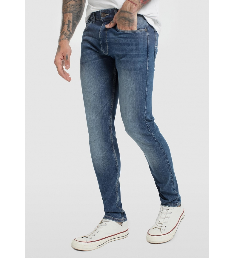 Comprar Six Valves Pantalón Denim azul