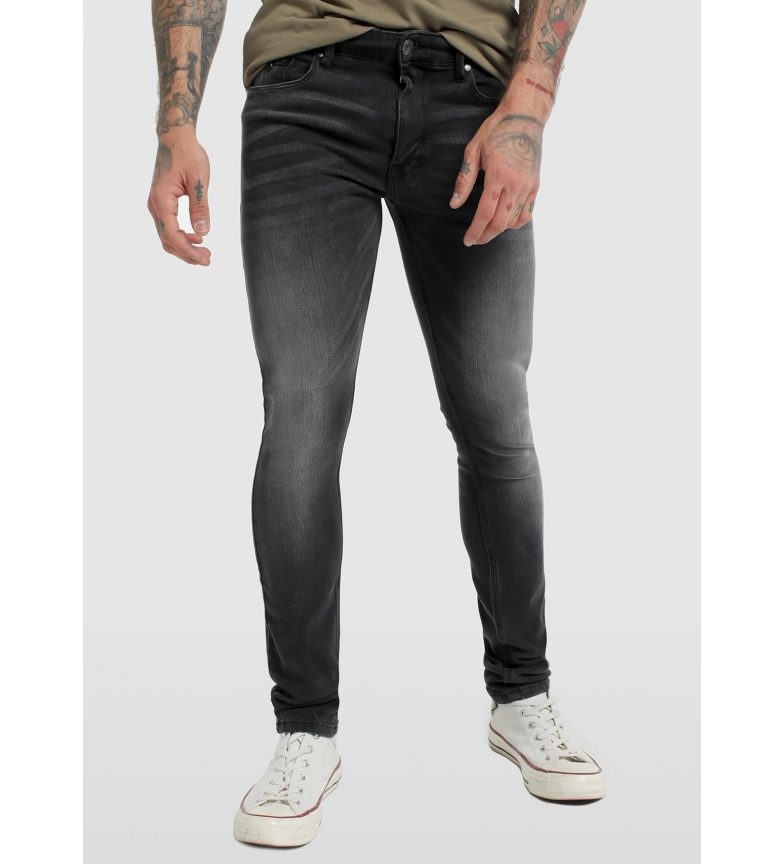 Comprar Six Valves Pantalón Denim negro