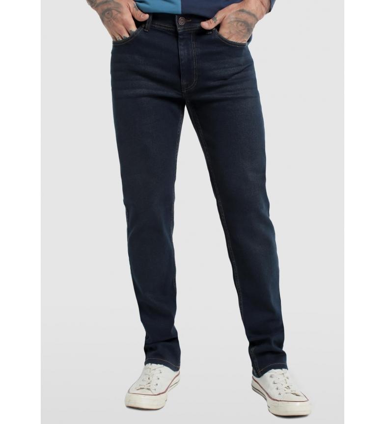 Six Valves Jeans Elástico Aberto Denim Comfort Preto