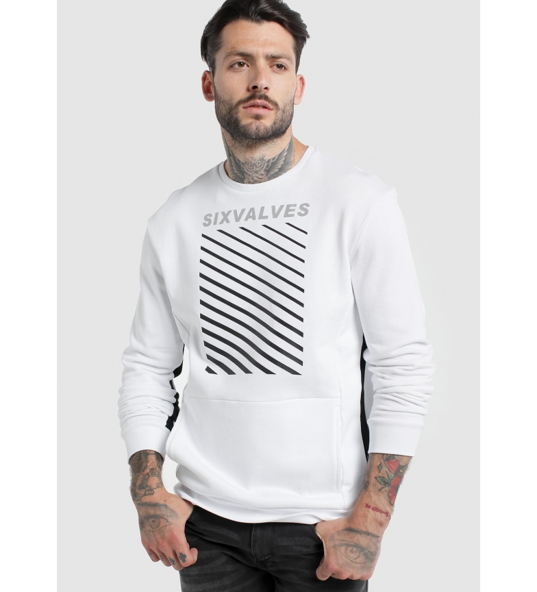 Comprar Six Valves Sweatshirt Pockets branco