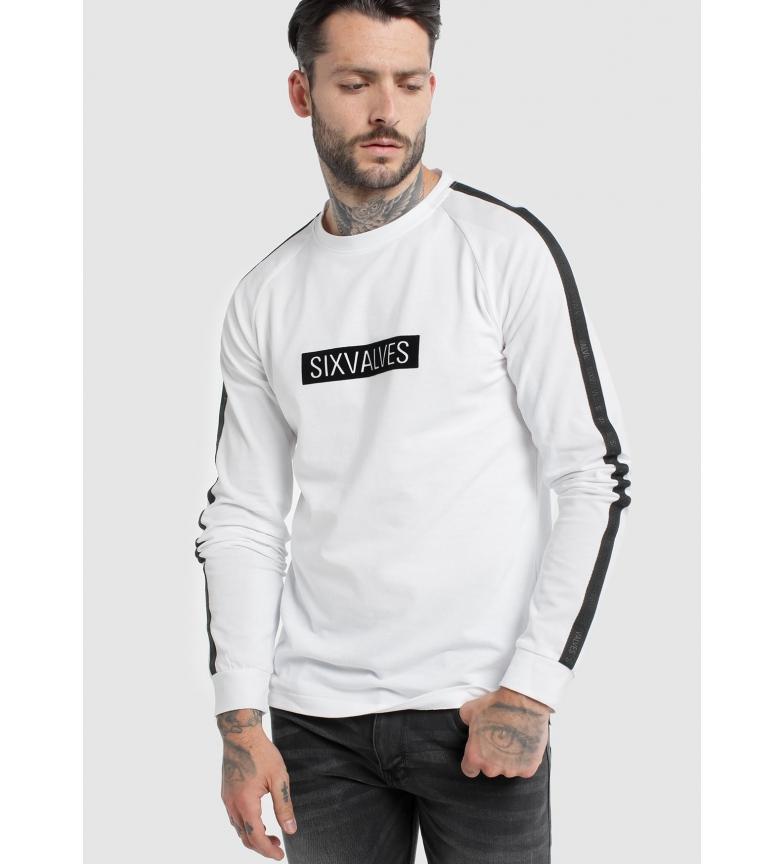 Comprar Six Valves Pique Rangla Sleeve T-shirt branca