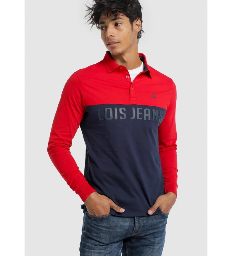 Comprar Lois Polo shirt Brandery Fire Loe red, navy