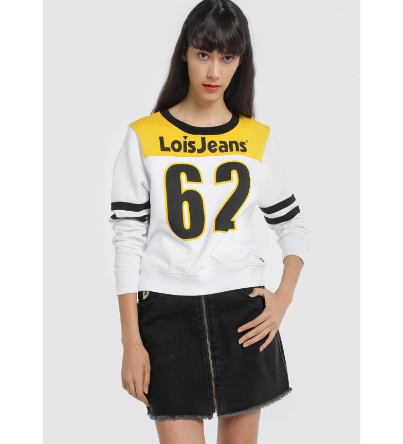 Lois Sweatshirt Premium Cut Skatepark Amance white