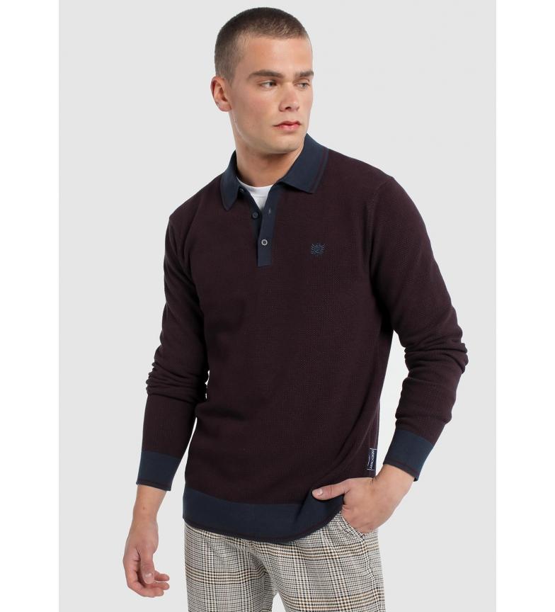 Comprar Bendorff Polo en tricot grenat