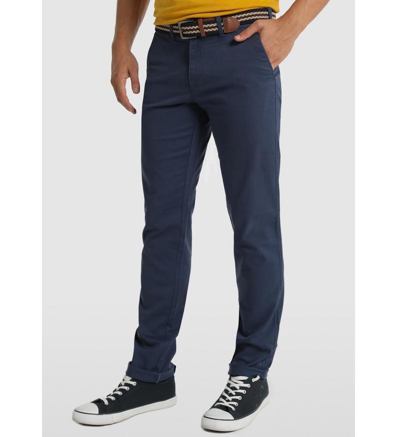 Comprar Bendorff Pantalón Chino Cinturón marino