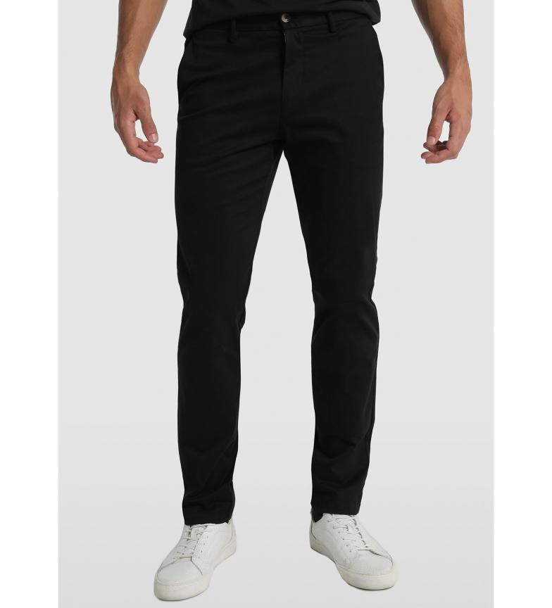Comprar Bendorff Pantalón Chino Slim Satén Elástico negro
