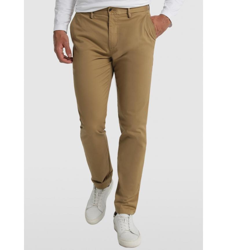 Comprar Bendorff Chinese Slim Satin Pants Elastic Brown