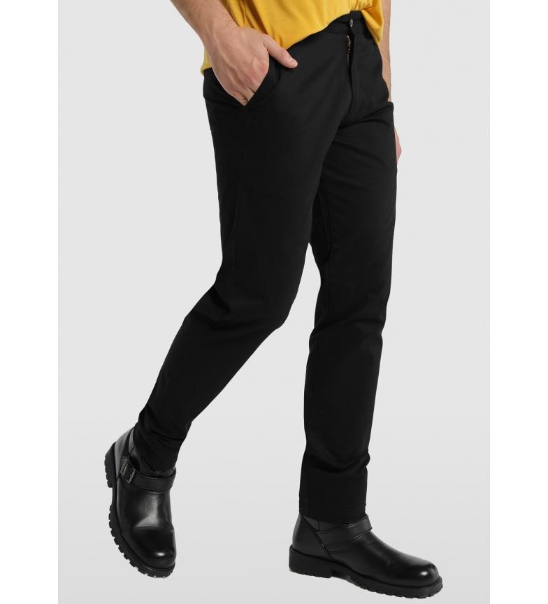 Comprar Lois Pantalon Chino Color Saten Serpo Maude negro