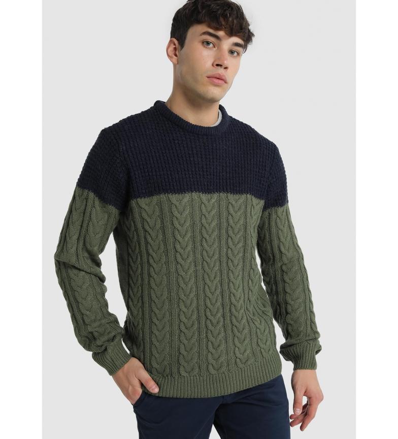 Comprar Lois Cable Combo Sweater Lage khaki