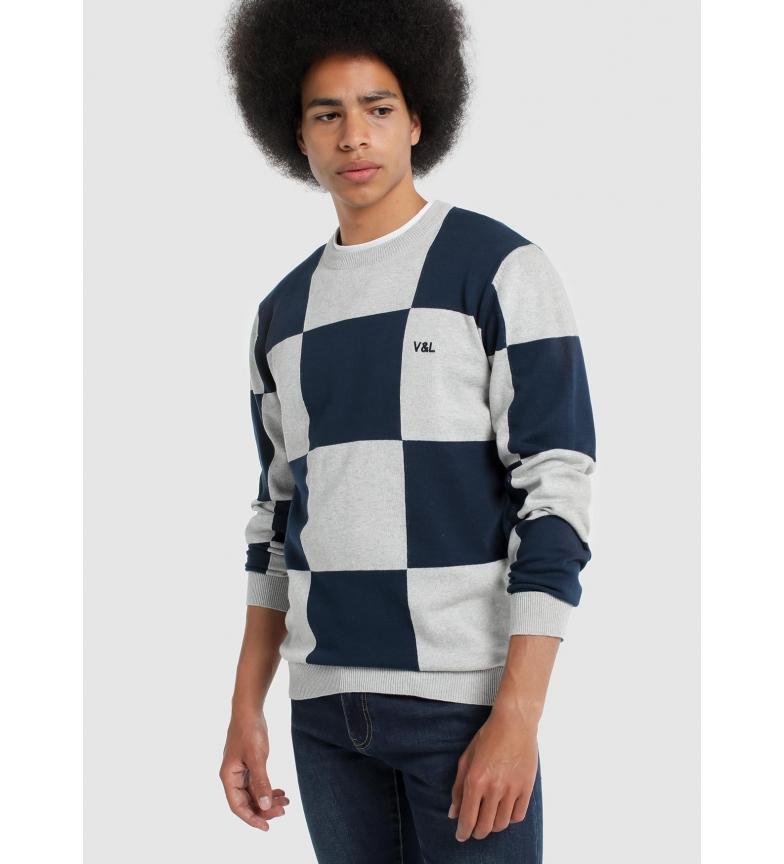 Comprar Victorio & Lucchino, V&L Sweater Frames Bi-colour marine, grey