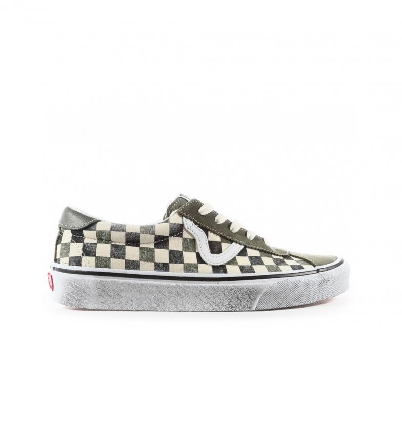 Comprar Vans Sapatos verdes desportivos