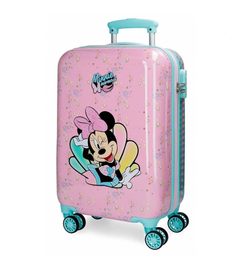 Comprar Joumma Bags Maleta de cabina Minnie Mermaid 32L rígida rosa -34x55x20cm-