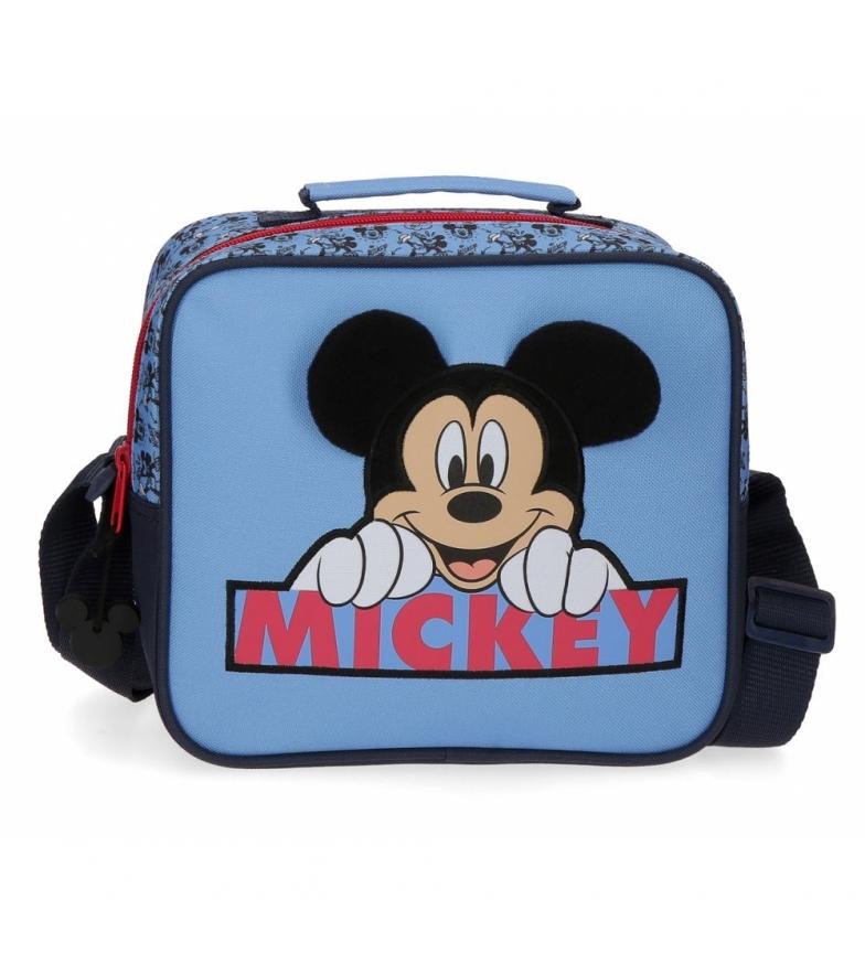 Comprar Mickey Trousse de toilette Mickey Moods adaptable avec bandoulière bleue -23x20x9cm
