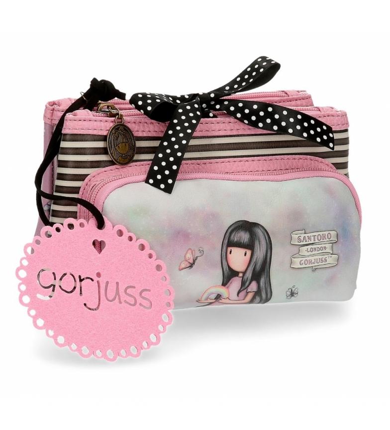 Comprar Joumma Bags Toilet bag small Gorjuss three compartments Somewhere pink -20,5x10,5x8,5cm