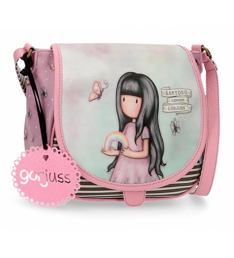 Comprar Joumma Bags Somewhere rosa Gorjuss borsa a tracolla con patta -23x20,5x8,5cm