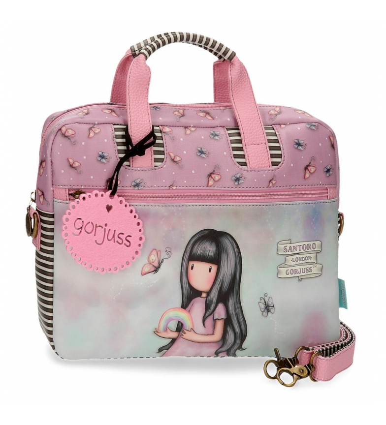 Comprar Gorjuss Somewhere Pink -33x25x5.5cm Custodia per notebook Gorjuss