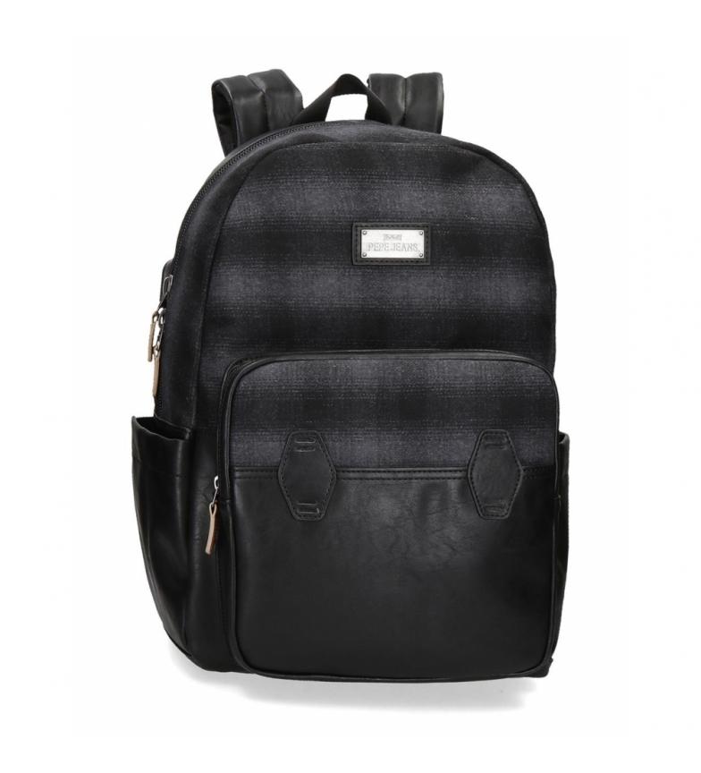 Comprar Pepe Jeans Mochila Pepe Jeans Scotch Computer Backpack preta 15,6