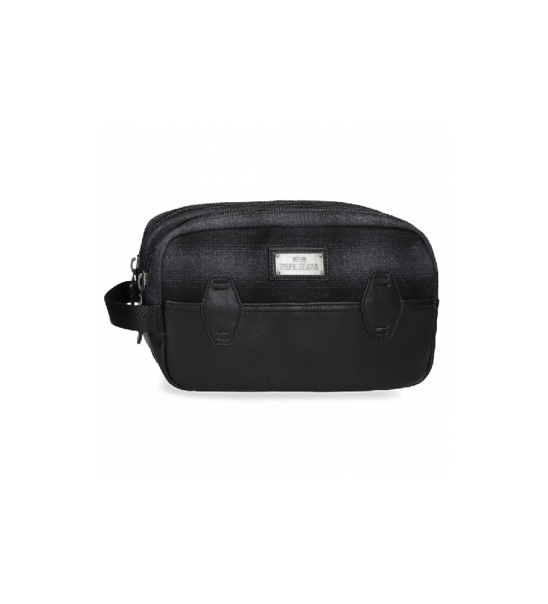 Pepe Jeans Neceser Pepe Jeans Scotch Adaptable negro -26x16x12cm-