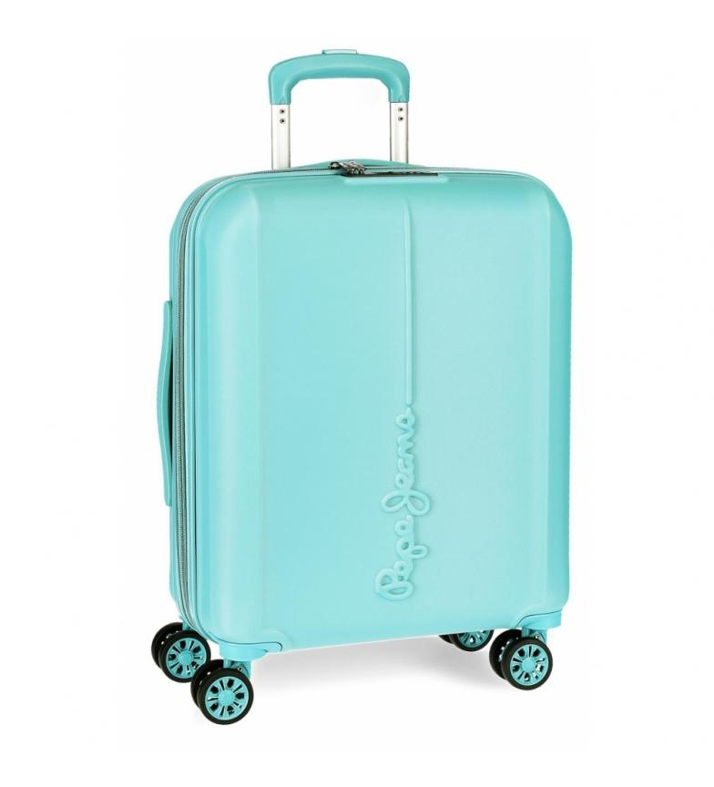 Comprar Pepe Jeans Pepe Jeans Glasgow cabin bag 37L light blue rigid -40x55x20cm