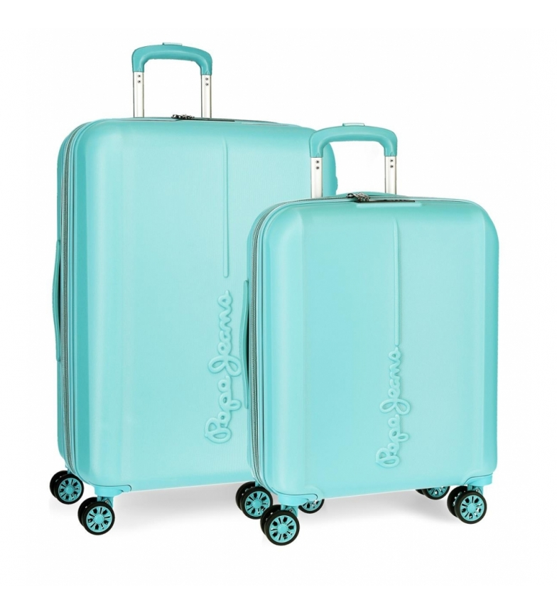 Comprar Pepe Jeans Pepe Jeans Glasgow rigid suitcase set 37L-78L light blue -40x55x20cm/48x70x28cm