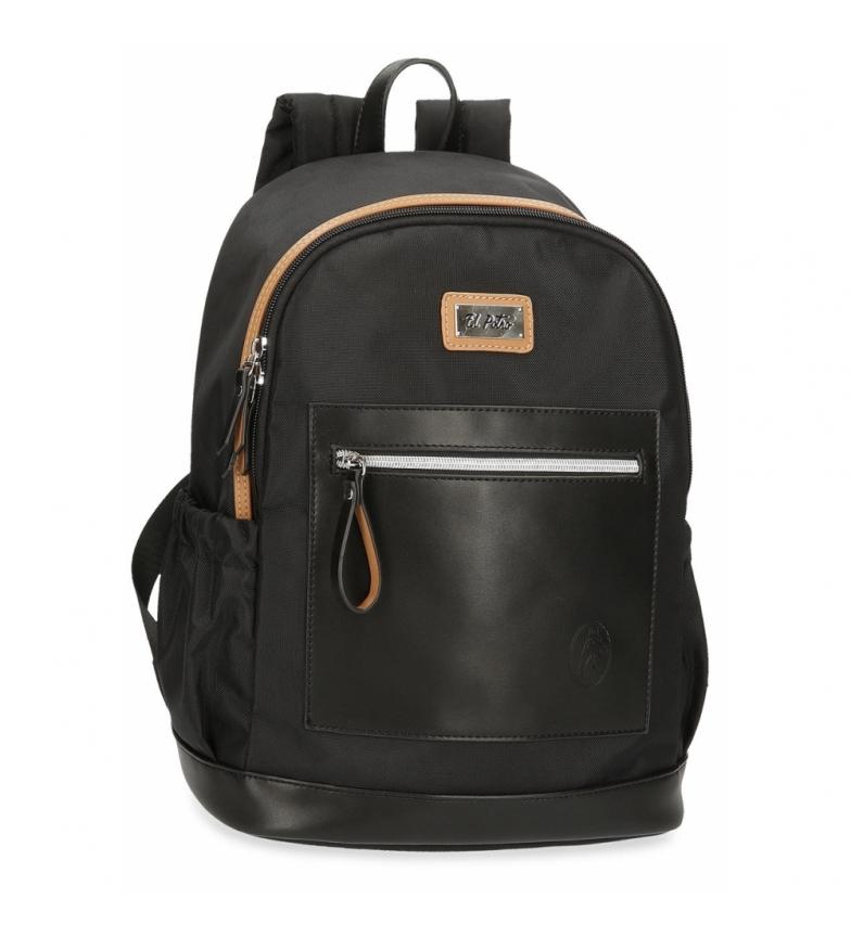Comprar El Potro Computer Backpack El Potro Chic black -30x40x15cm