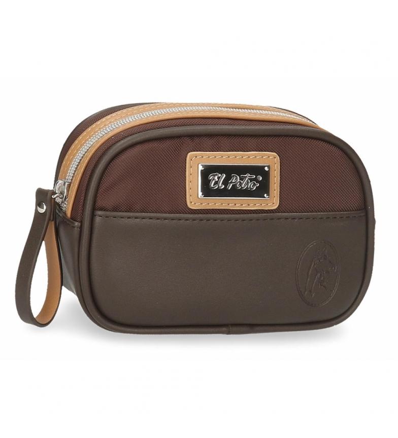 Comprar El Potro Toilet bag El Potro Chic brown -17x11x6cm