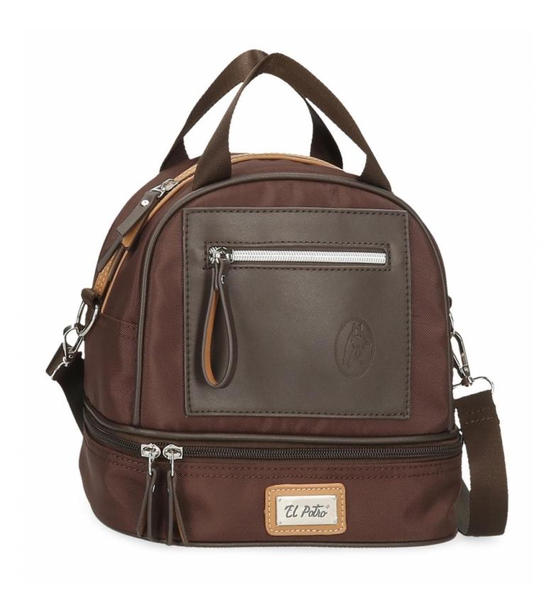 Comprar El Potro El Potro Chic brown thermal food bag -23x22x14cm