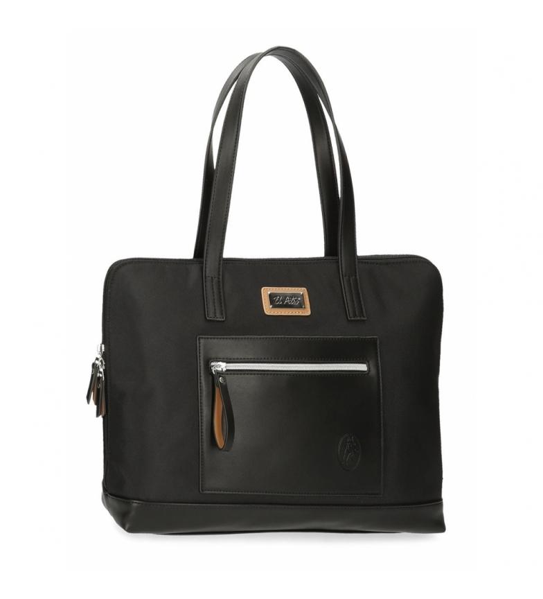 Comprar El Potro El Potro Chic sac d'ordinateur adaptable noir -38x28x9cm