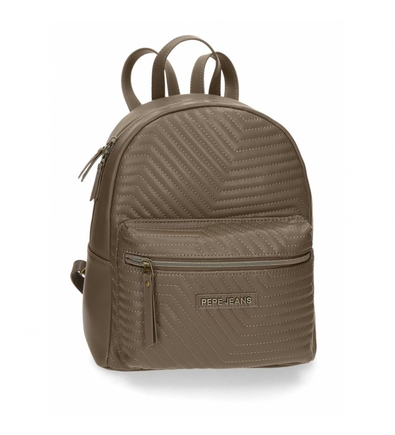 Comprar Pepe Jeans Pepe Jeans Amanda taupe casual backpack -25,5x31x11,5cm