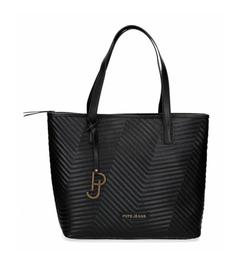 Comprar Pepe Jeans Pepe Jeans Amanda Shopper Bag black -34x33x14cm