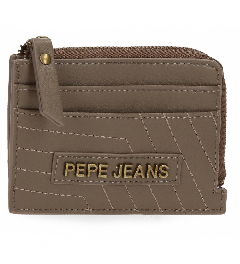 Comprar Pepe Jeans Pepe Jeans Amanda wallet with taupe card holder -11,5x8x1,5cm